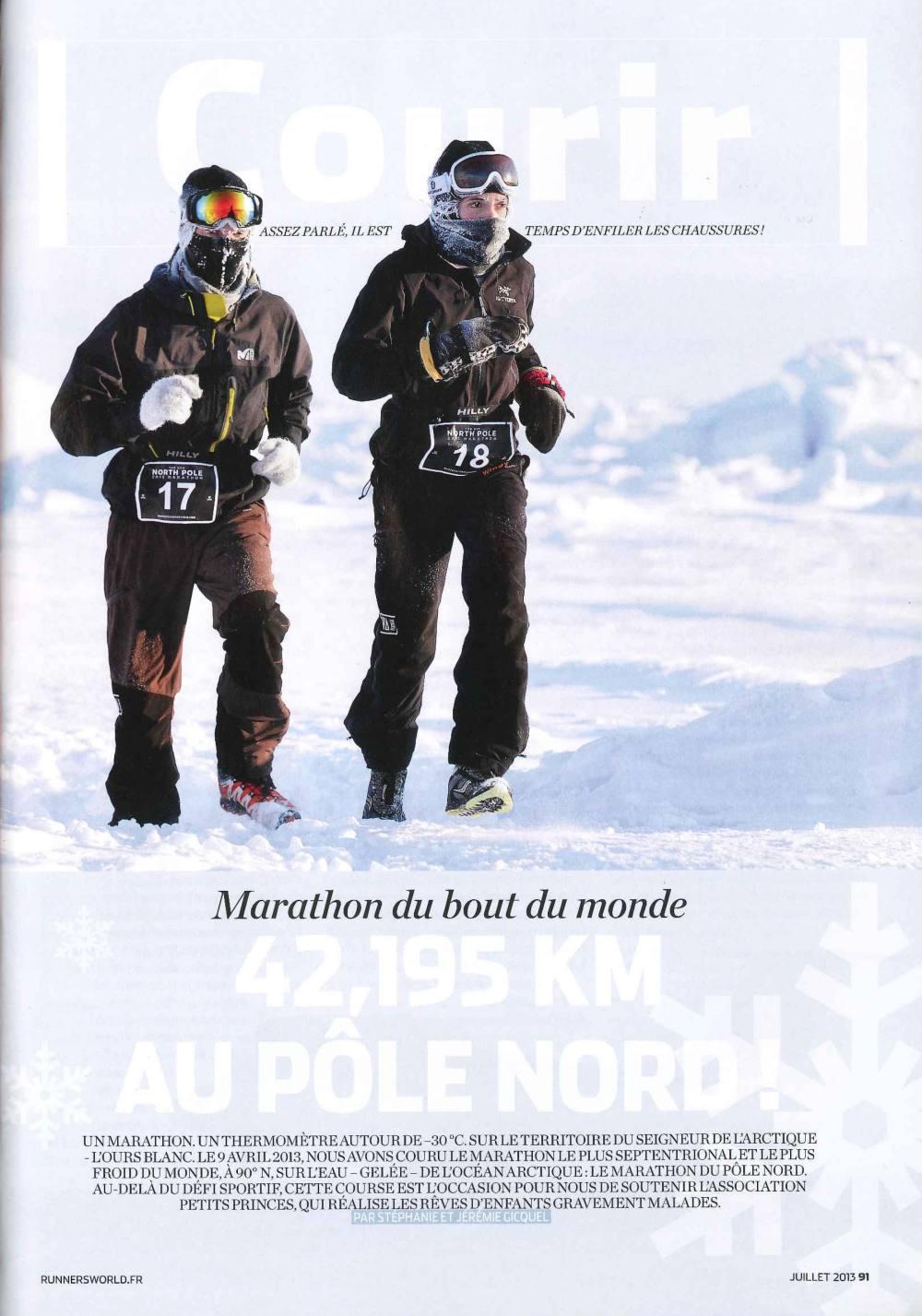 Couverture Runnersworld Stéphanie Gicquel