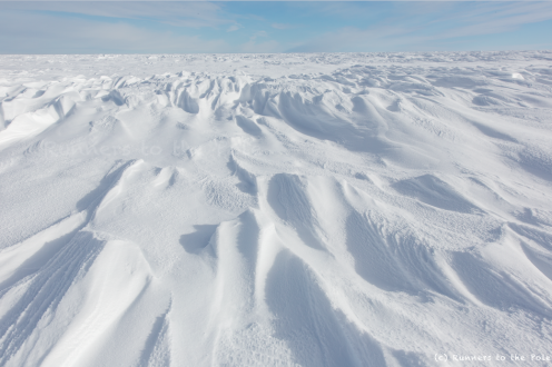Alors que l'année 2014 s'achève, nous quittons le plateau Antarctique pour entamer une longue descente de plus de 900 kilomètres jusqu'à Hercules Inlet qui repose sur la mer de Weddell.