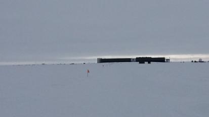J 40 – Arrivée au pôleSud