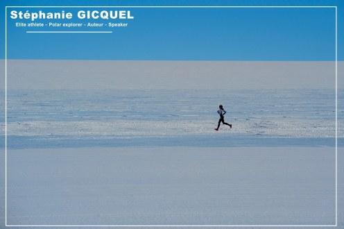 Running Antarctica - Stéphanie Gicquel