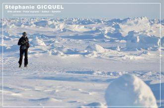 Running Pole Nord - Stéphanie Gicquel
